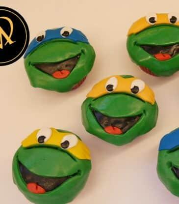 Turtles Cupcakes – Teenage Mutant Ninja