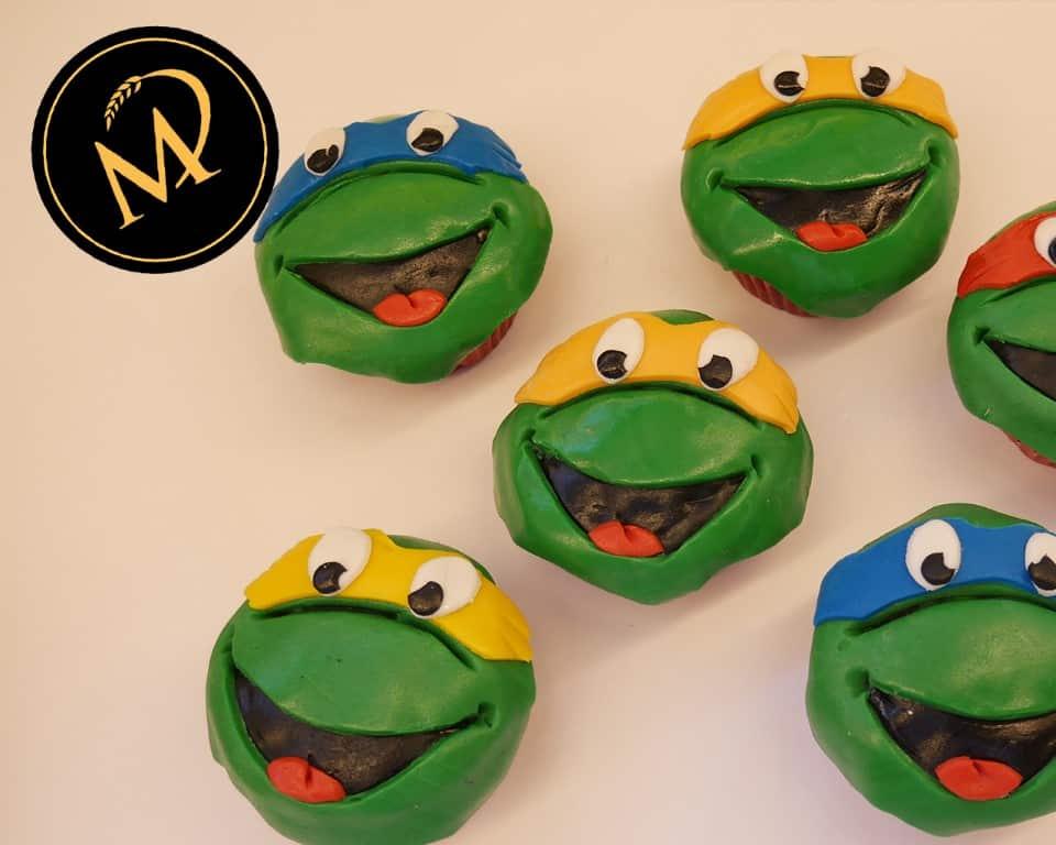 Turtels Cup Cakes - Rezept Marcel Paa