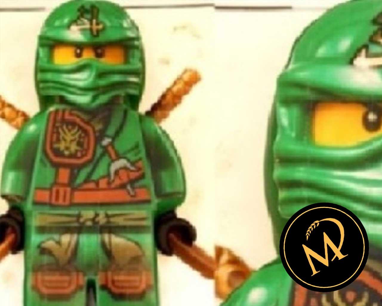Ninjago Foto Motivtorte - Rezept Marcel Paa