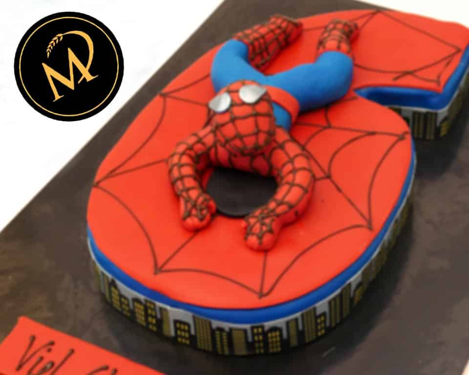 Spiderman Torte - Rezept Marcel Paa