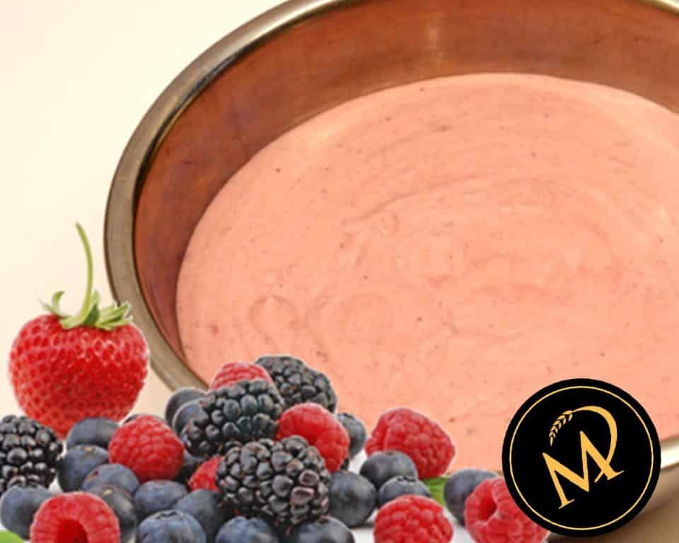 Waldbeer-Joghurt-Füllung - Rezept Marcel Paa