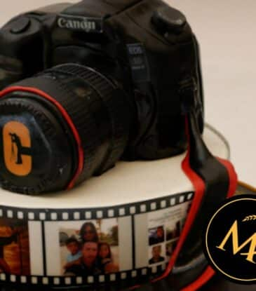3D Kamera Torte – einfach filmreif