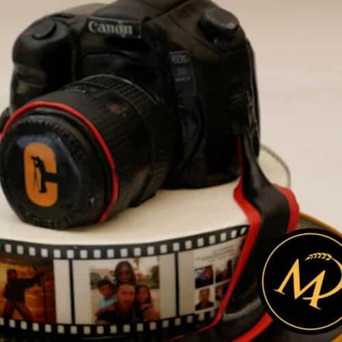 3D Kamera Torte - Rezept Marcel Paa