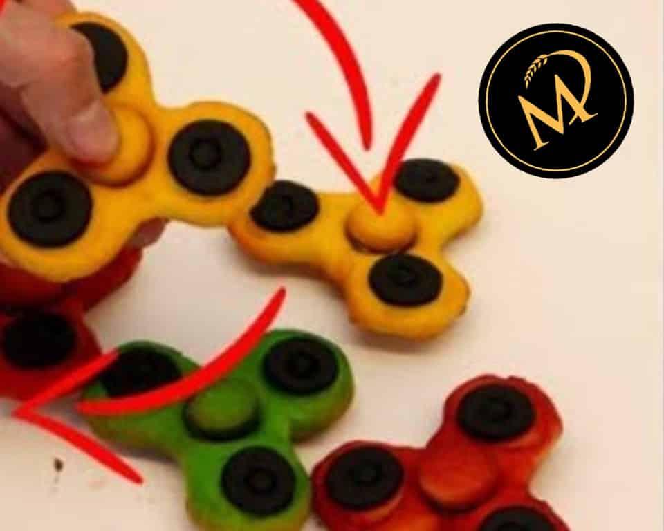 Fidget Spinner Cookies - Rezept Marcel Paa