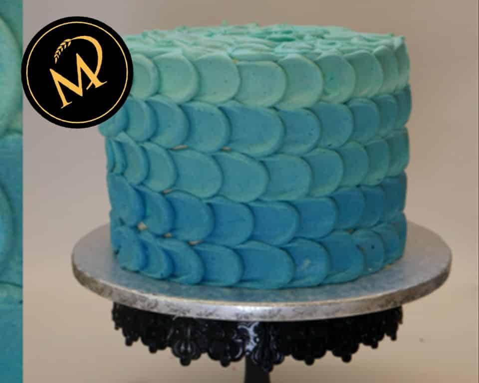 Ombre Buttercreme Torte - Rezept Marcel Paa