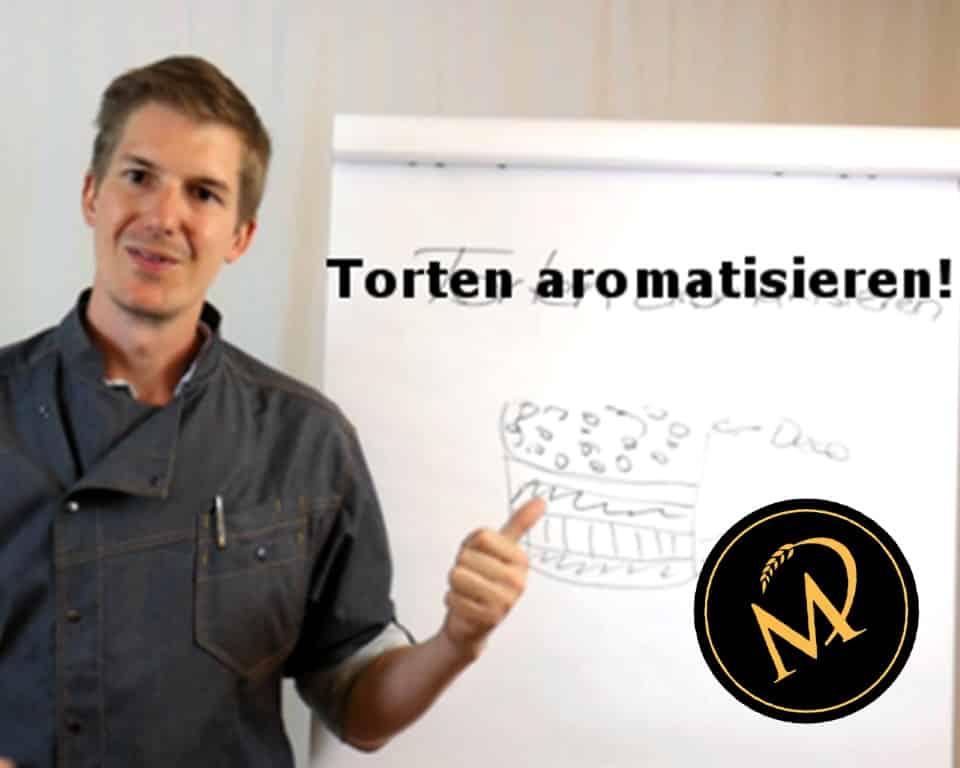 Torten aromatisieren - Rezept Marcel Paa