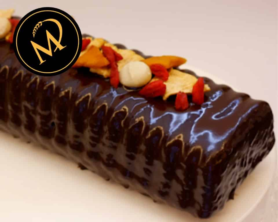 Schokoladen Kuchen mit Trockenfrüchten - Rezept Marcel Paa