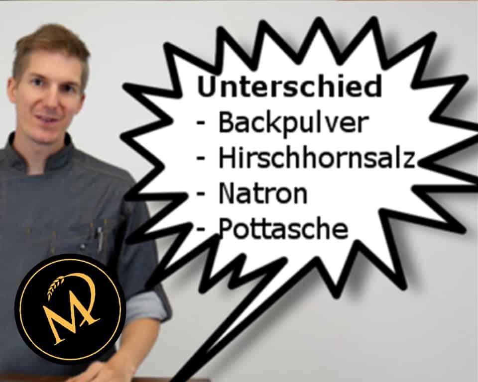 Unterschiede der Backtriebmittel - Rezept Marcel Paa