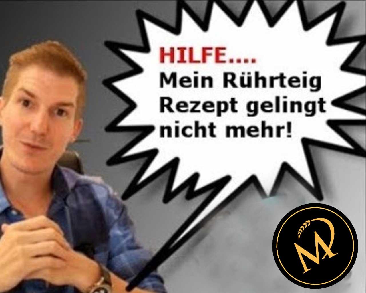 Rührteig Fehlerquellen - Rezept Marcel Paa