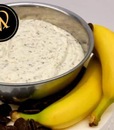 Schokoladen Bananen Mousse