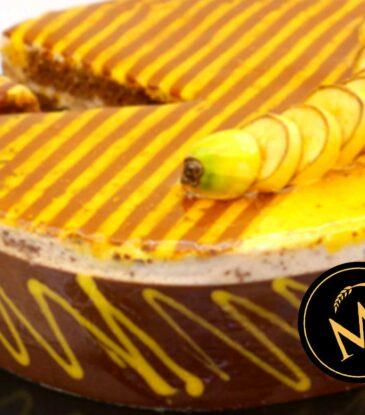 Schokoladen Bananen Mousse Torte