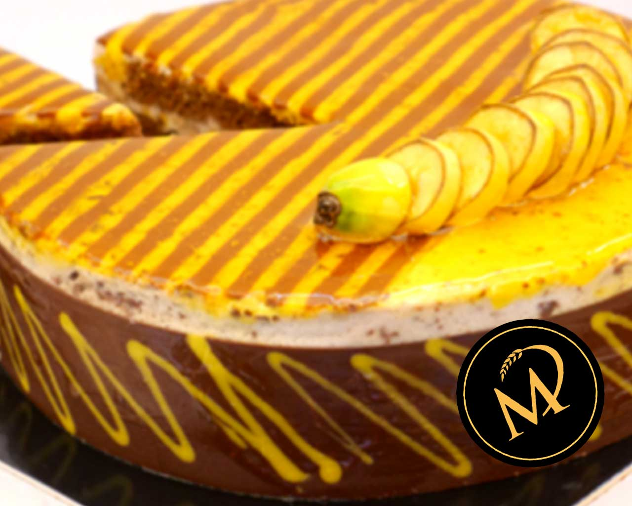 Schokoladen Bananen Mousse Torte - Rezept Marcel Paa