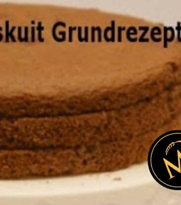 Schokoladen Biskuit für Sahnetorten