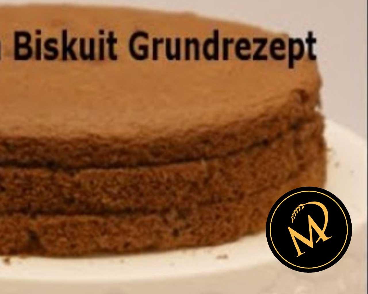 Schokoladen Biskuit für Sahnetorten - Rezept Marcel Paa