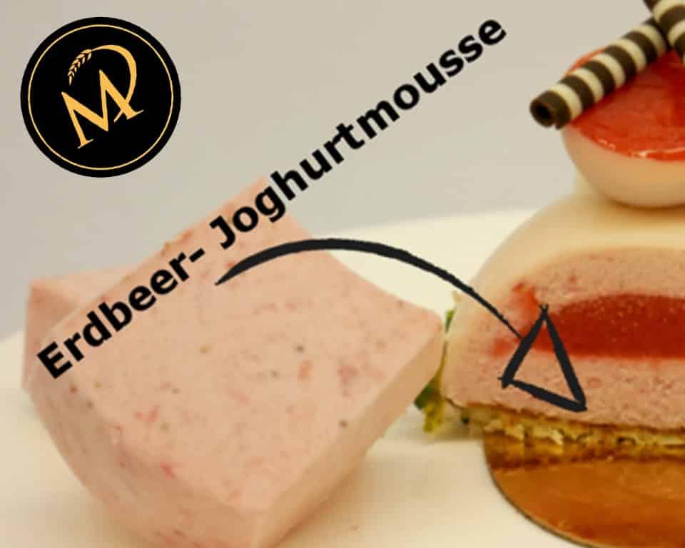 Erdbeer Joghurt Patisserie - Rezept Marcel Paa