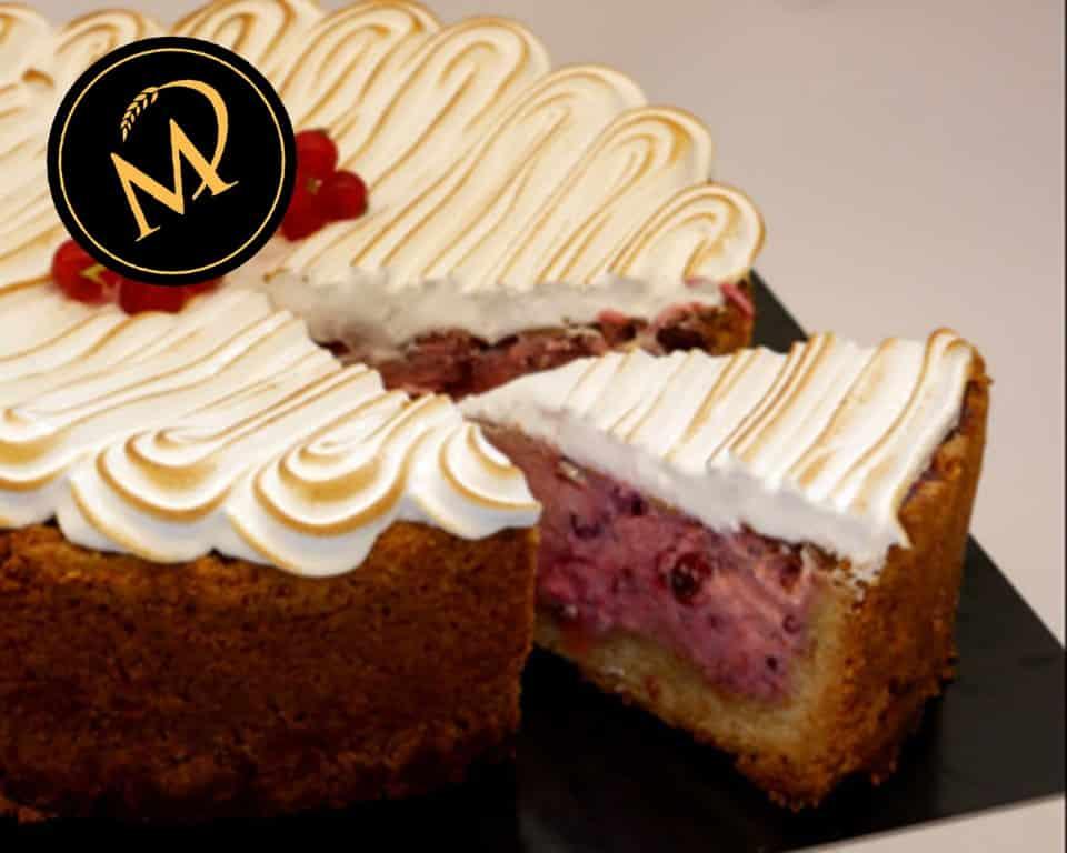 Johannisbeer Skyr Kuchen - Rezept Marcel Paa