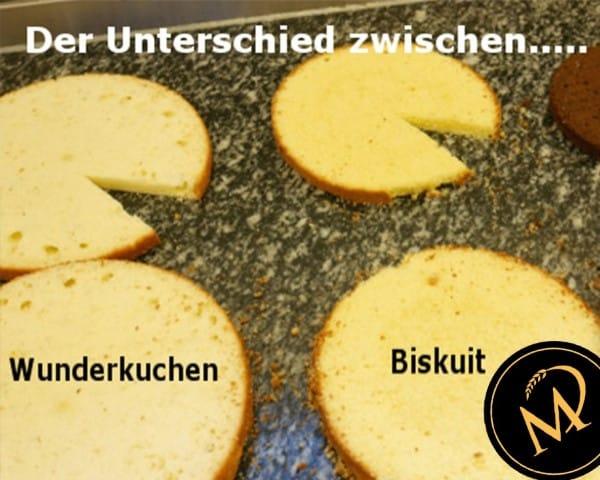 Unterschied Biskuit Wunderkuchen Rührkuchen - Rezept Marcel Paa