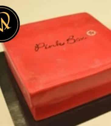 Geschenkbox Torte – Pink Box Motivtorte