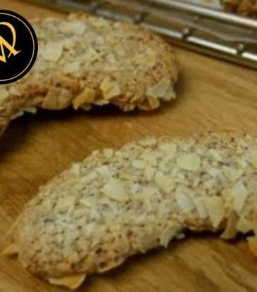 Mandelbögen Kekse (glutenfrei)