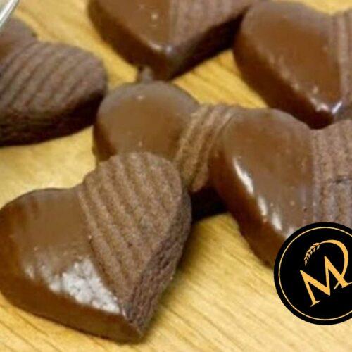 Schoko Herzen Kekse - Rezept Marcel Paa