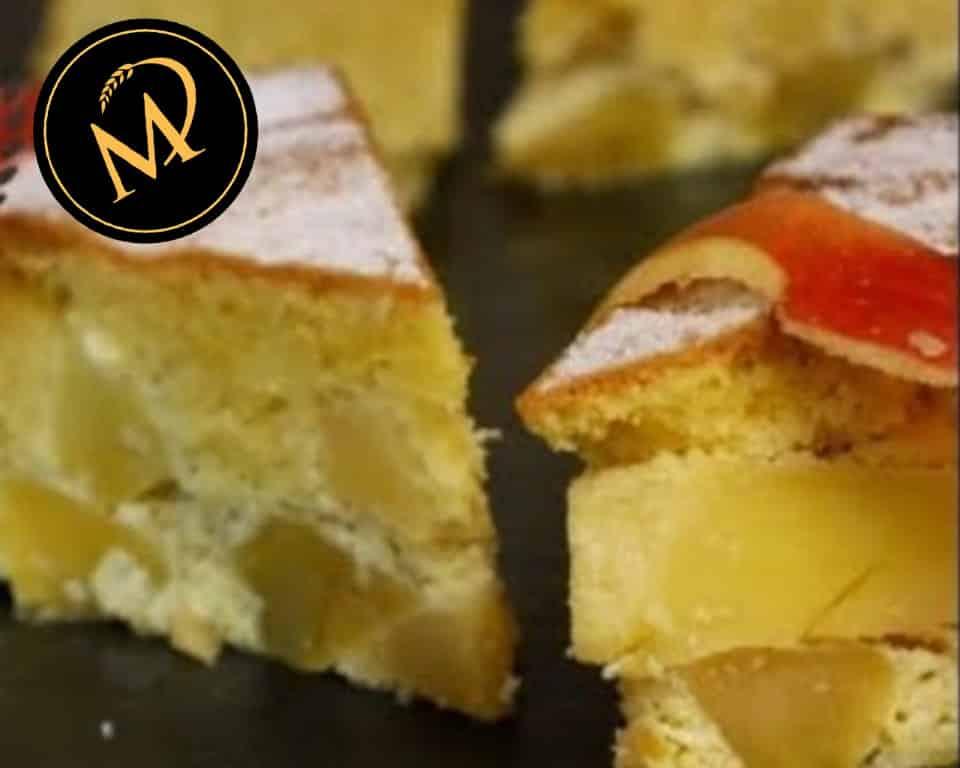 Apfelkuchen zucker- und glutenfrei - Rezept Marcel Paa
