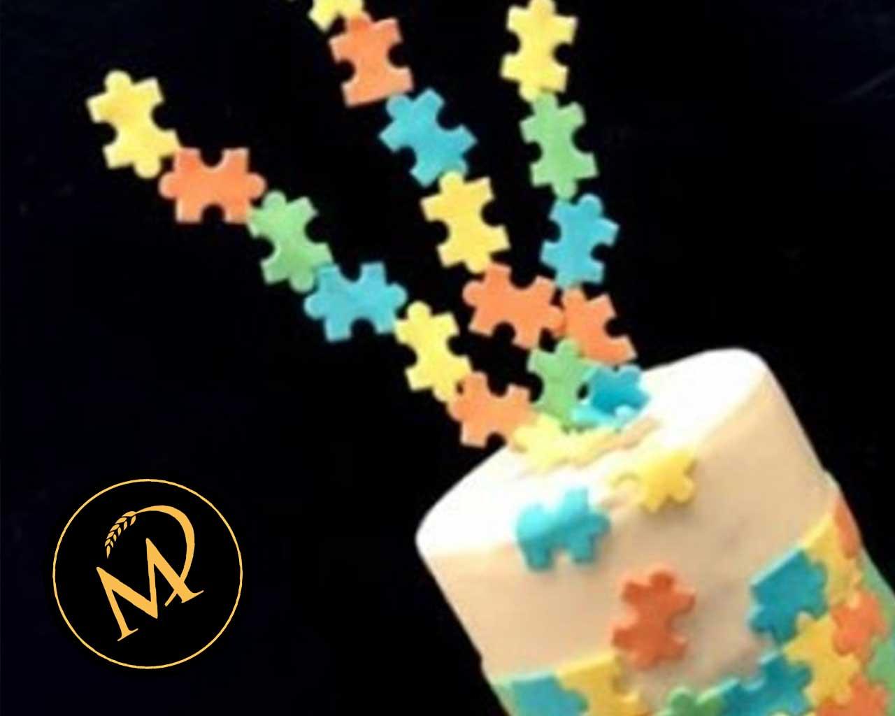 Puzzle Motiv Torte - Rezept Marcel Paa