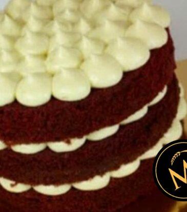Red Velvet Cake mit Frischkäse Frosting