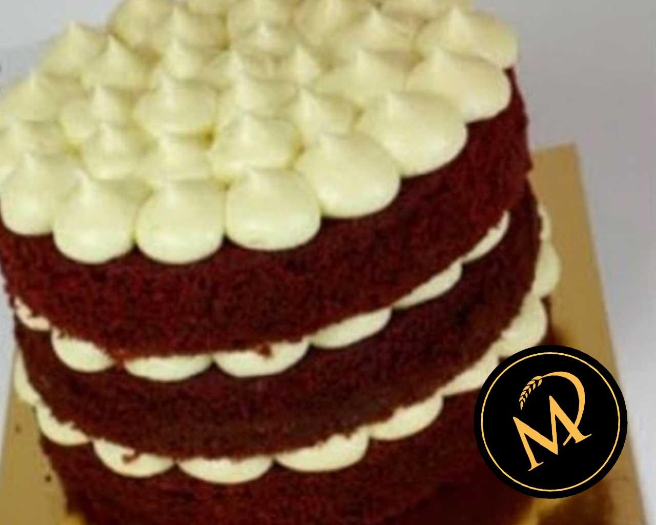 Red Velvet Cake mit Frischkäse Frosting - Rezept Marcel Paa