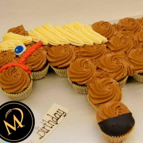 Cup Cake Pferd - Rezept Marcel Paa