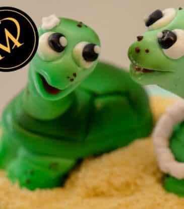 Schildkröten aus Modellierfondant