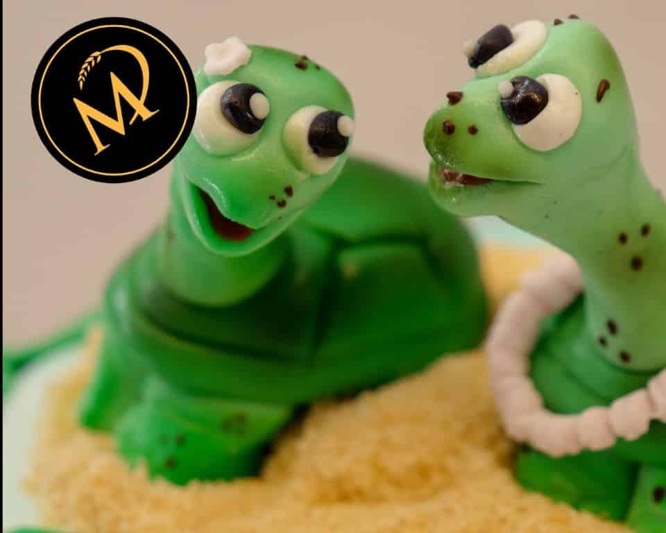 Schildkröten modellieren - Rezept Marcel Paa