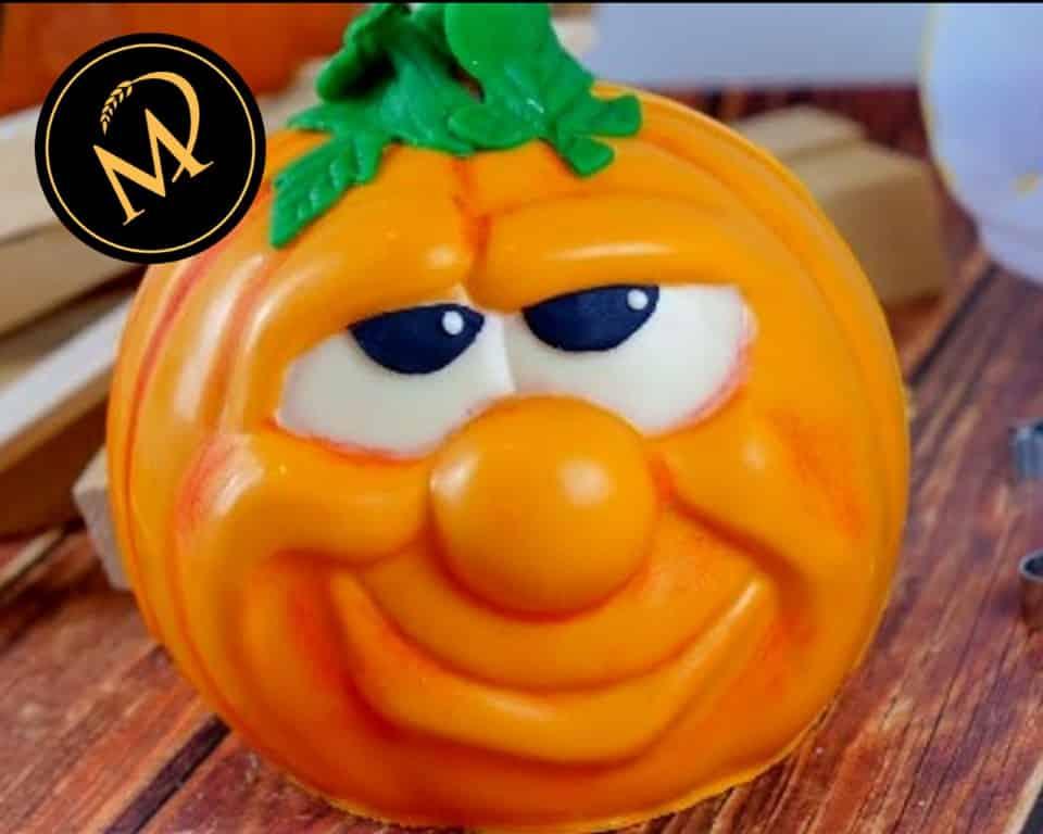 Halloween Schokoladen Kürbis - Rezept Marcel Paa