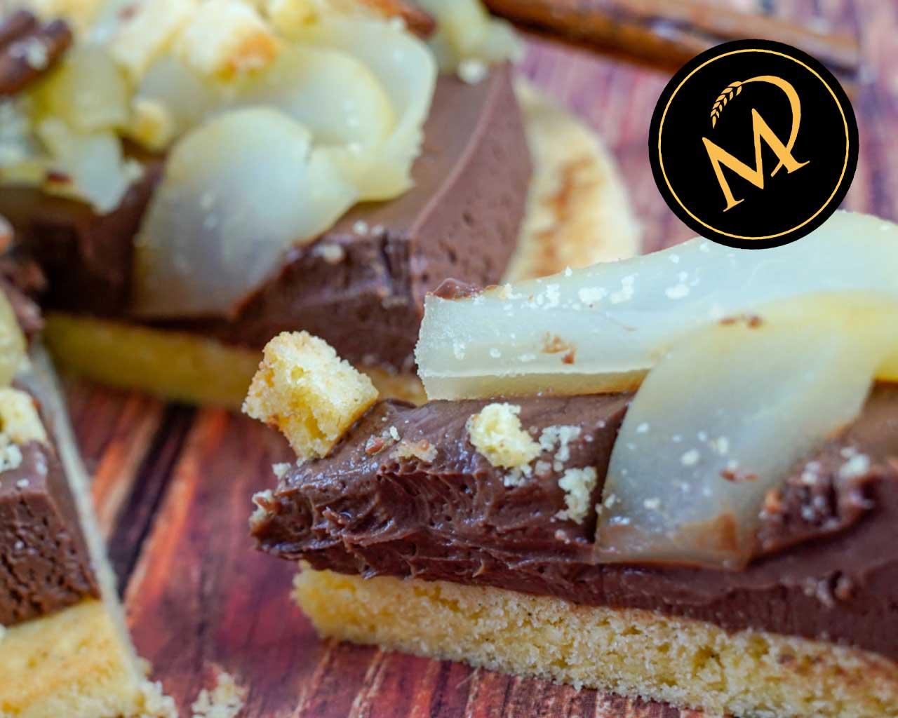 Schokoladen Birnen Tarte - Rezept Marcel Paa