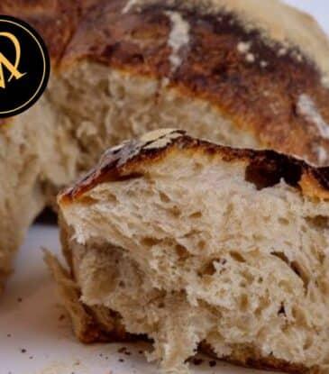 Brot Laib mit 60 Stunden Teigreifung