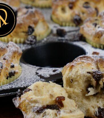 Christstollen Muffins – einfach traumhaft