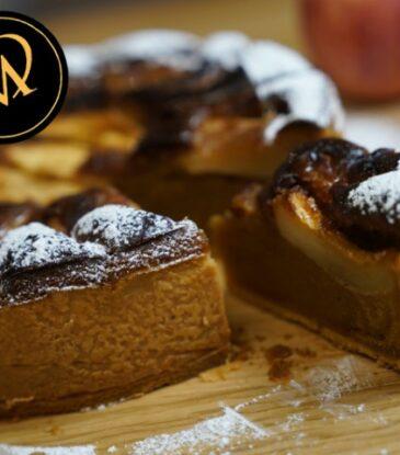 Apfel Nougat Kuchen – einfach köstlich