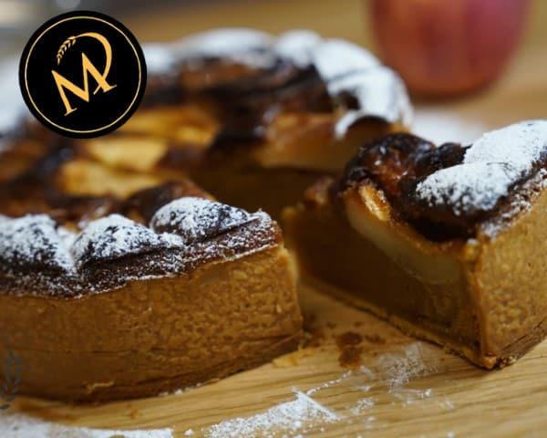 Nougat Apfel Torte - Rezept Marcel Paa
