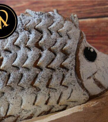 Igel Motiv Brot – Gebildebrot
