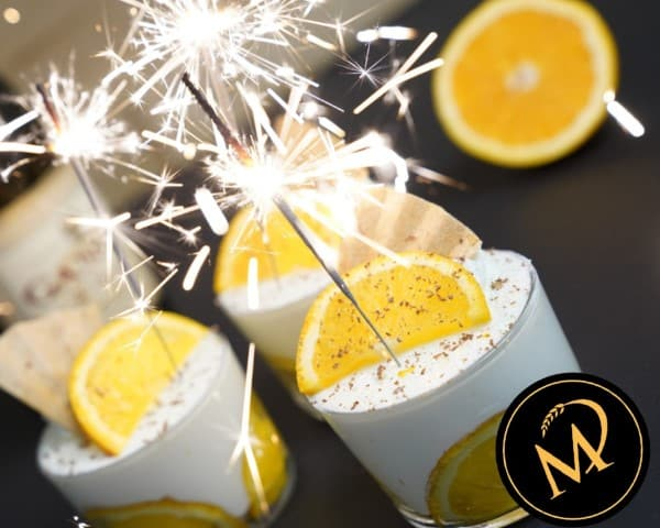 Orangen Champagner Creme - Rezept Marcel Paa