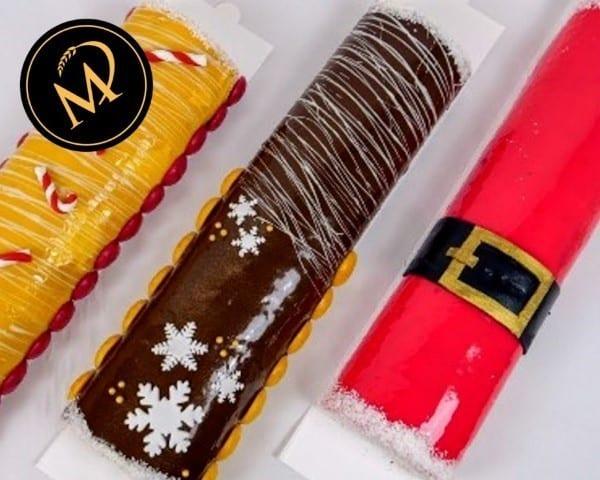 Weihnachts Biskuit Rouladen - Rezept Marcel Paa