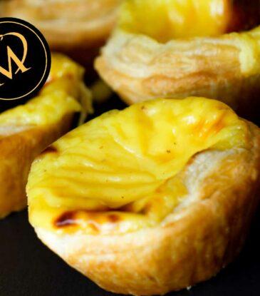 Pastel de Nata – Puddingtörtchen