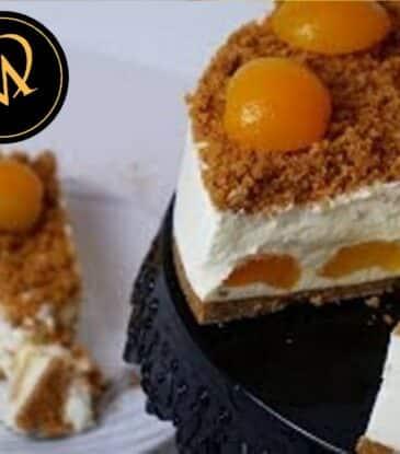 Aprikosen Knusper Torte – no bake cake
