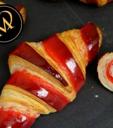 Bicolor Croissants – neuer Kurs