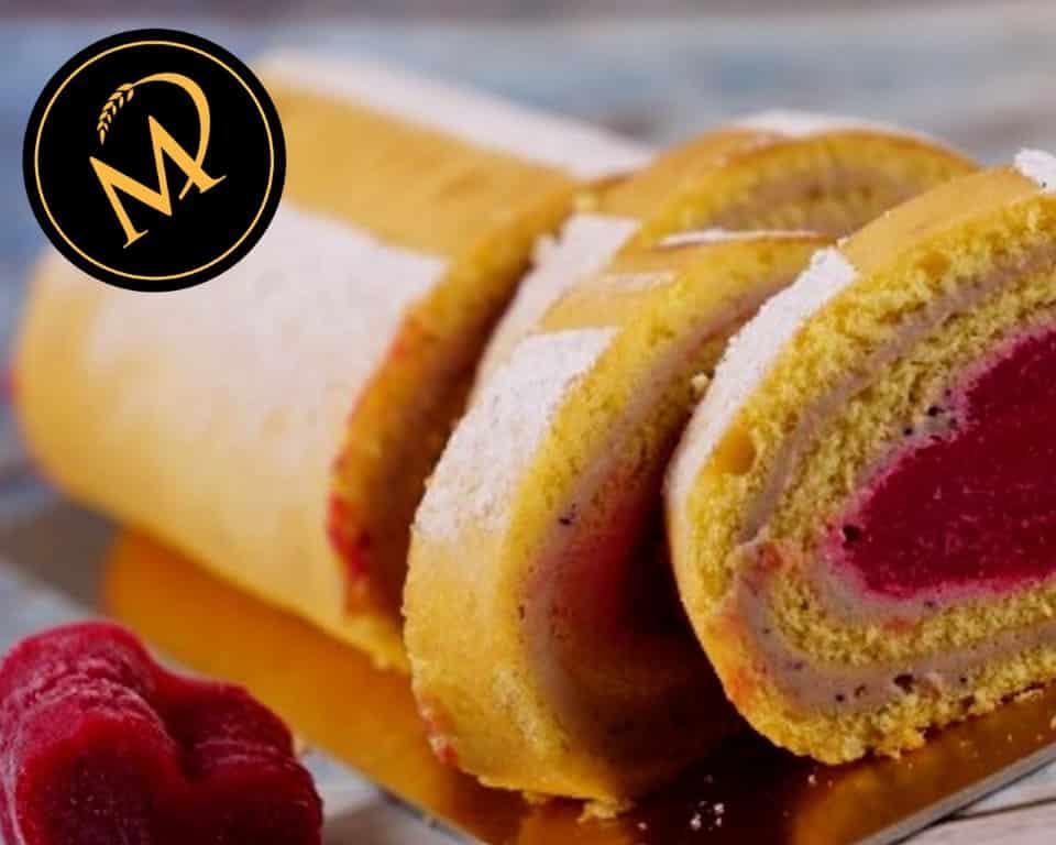 Biskuit Roulade zum Muttertag - Rezept Marcel Paa