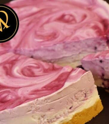 Blaubeer Joghurt Torte – no bake cake