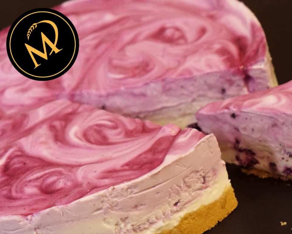 Blaubeer Joghurt Torte - Rezept Marcel Paa