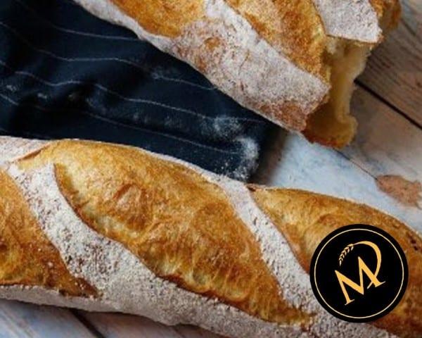 Baguette - no knead bread - Rezept Marcel Paa