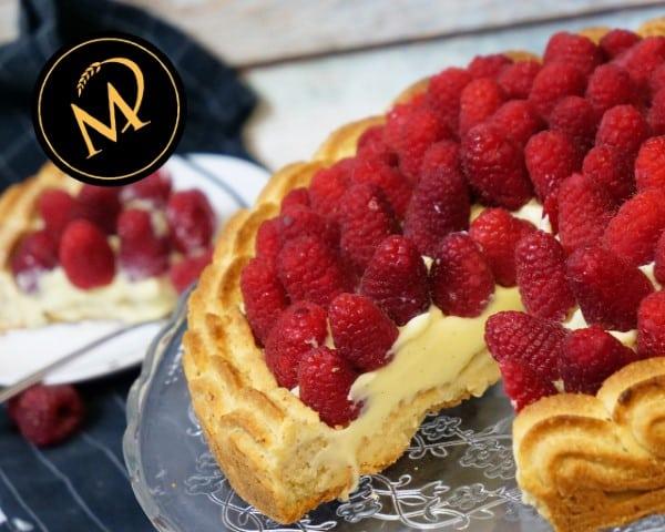 Himbeer Vanillekuchen - Rezept Marcel Paa