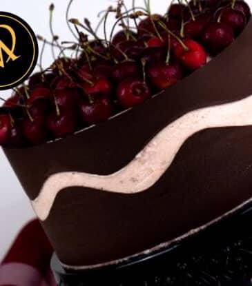Kirschen Fault Line Cake