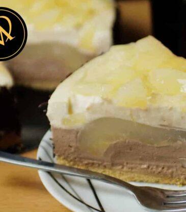 Baileys Schoko-Birnen Torte – no bake cake